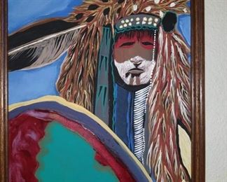 native american art unknown artist