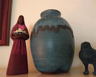 Native American pottery and figurines