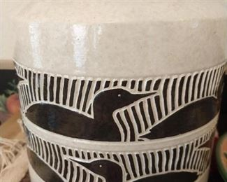 Pottery Cannister