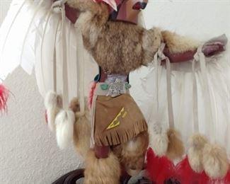 Red Tail Hawk Kachina