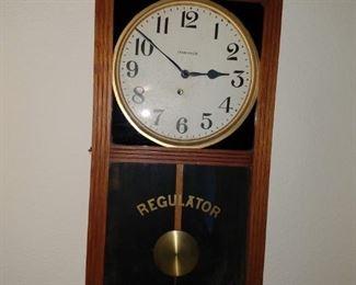 Regulator Wall Clock working