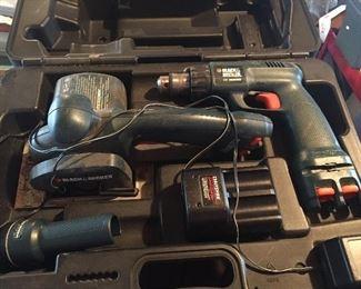 Assorted Electric & Battery Handtools - Craftsman & Ryobi