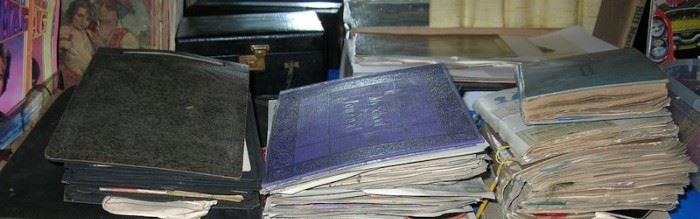 Scrapbooks are STUFFED!