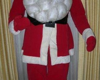 Lifesized Store Display Santa!