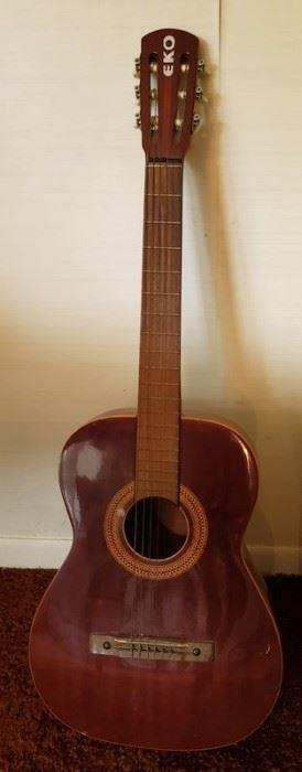 Vintage EKO acoustic guitar