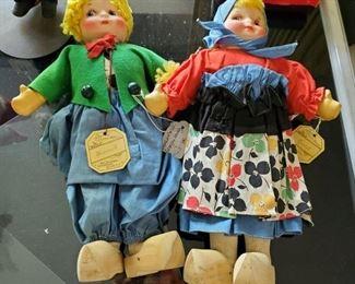 Georgine Novelty doll pair: Hansel & Gretel