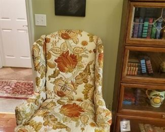 Several vintage arm chairs