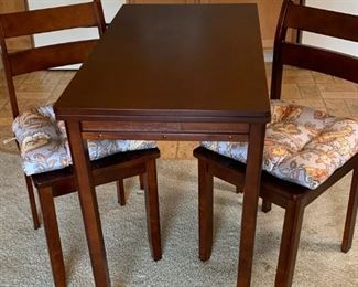 Expanding Table Kitchen Dining Set