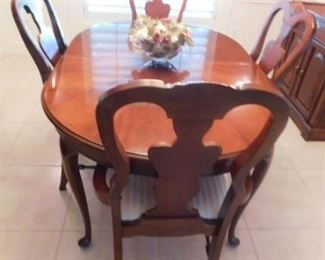 Dining table 4 chairs