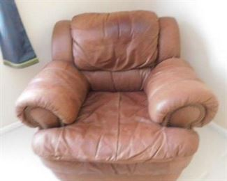 Leather Mart Leather Arm Chair