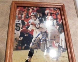 Troy Aikman Signed photograph