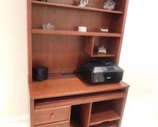 Ethan Allen Desk and Bookcase combo