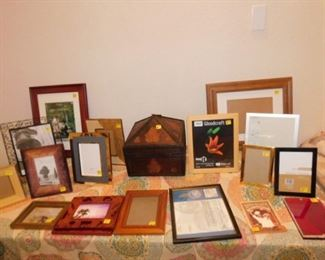 We have picture frames
