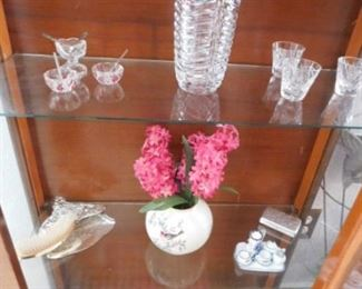 Crystal and Lenox vase
