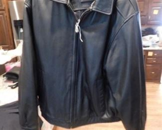 Leather Croft and Barrow Jacket