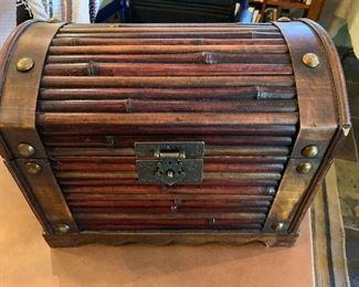 cute wooden box