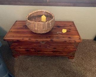Nice cedar chest