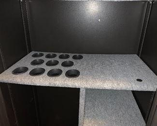 Inside the gun safe