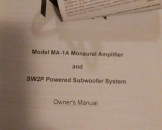 SwaP POWERED SUBWOOFER SYSTEM