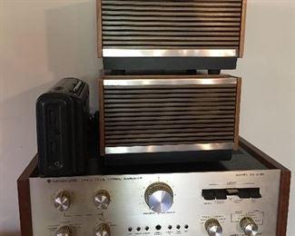 Kenwood Amp Grundig Speakers