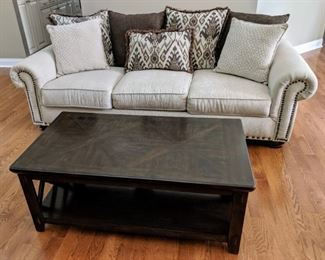 sofa couch coffee table