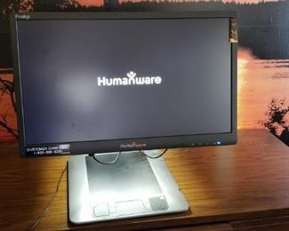 "24"" LED Humanware Magnifying Monitor       https://ctbids.com/#!/description/share/209252"