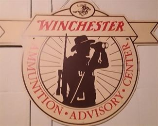 WINCHESTER AMMO SIGN