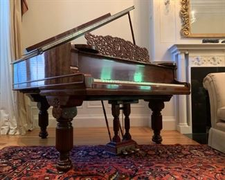 1880's Steinway Grand Piano, 6', Serial # 78307