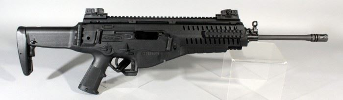 Beretta ARX 100 .223 Cal Rifle SN# SX04870, Aftermarket Trigger At 5.5 Lbs, With Paperwork, In Soft Case