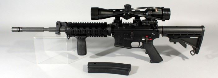 Spike's Tactical ST15 5.56 Cal Rifle SN# 61485, With AB Optics Scope AR/223