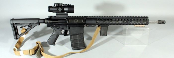 Palmetto Arms PA-10 .308/7.62 Cal Rifle SN# PF038161, With Primary Arms 5x Prism Scope And Sling, In Box