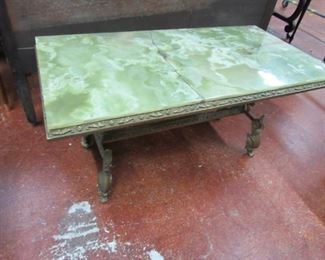 Green Onyx Top Coffee Table