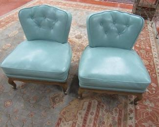 Pr. Hollywood Regency French Chairs