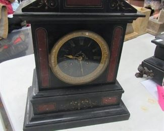 French Slate & Marble Clock