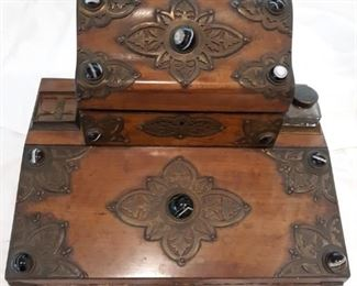 Antique travel writing desk
