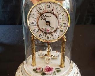 Bulova Dresden Reine Handarbeit Anniversary Clock