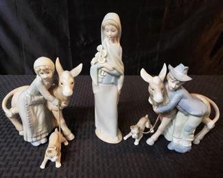 Lladro and Ardalt Figurines