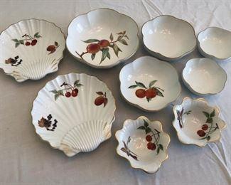 Royal Worcester Evesham Fine Porcelain Assorted Tableware