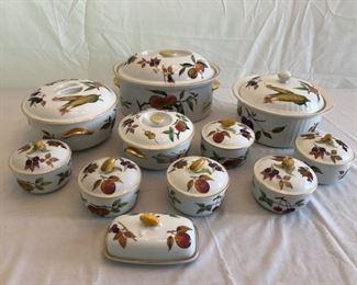 Royal Worcester Evesham Fine Porcelain Tableware