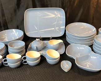 Winfield Handcrafted Baby Blue China Set