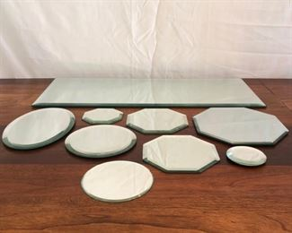 Assorted Mirrors of Different Sizes Shapes