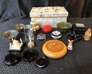 Assorted Small Items Decorations  Decorative Container
