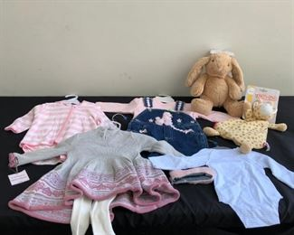 Brand New Babytoddler Clothes Rattling Stuffed Animals