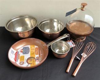 Brand New Copper Kitchen Appliances Bowls