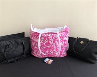 Brand New Nicole Miller Weekend Bag Beach Bag  Tommy Hilfiger Tote Bag