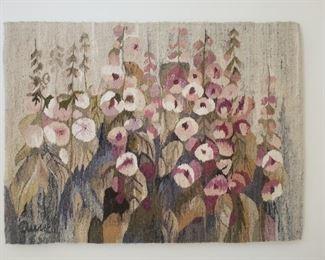 Fabric Art Dumne Malwy by Anna Brekewska