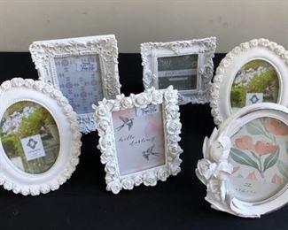 Frames w Floral Design various sizes  shapes