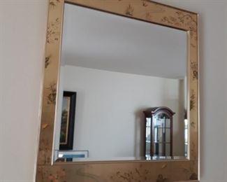 Gold embellished mirror