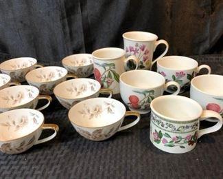 Noritake Lasalle and Pomona Mugs Cups