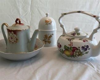 Porcelain Tea Pots More